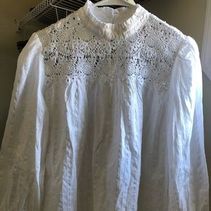 New without tag White lace gap blouse